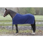 Showdeken Fleece Harrys Horse-205-Navy