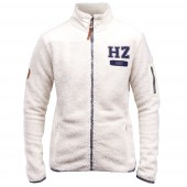 Haily Teddy Fleece Horze-D40-Wit