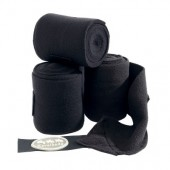 Fleece Bandages Zwart