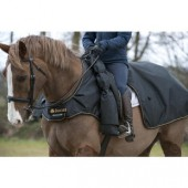 Bucas Irish Leg Warmer Riding Rug Black/Gold