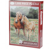 Puzzle Red Horse