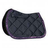 Zadeldek Diva Purple - Navy