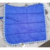 Suède dressage pads friesch- Dressuur Full Royal Blue