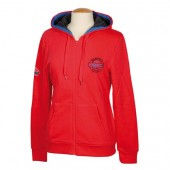 Hoodie Chester Rouge-Red