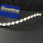 Showtime White Swarofski Opaal Mixed Zwart