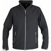 Softshell Jas Action Unisex Zwart