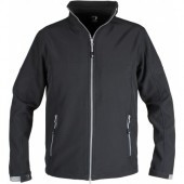 Softshell Jas Action Unisex - Zwart