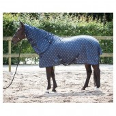Vliegendeken met Losse Hals Harrys Horse-205-Blue-Nights